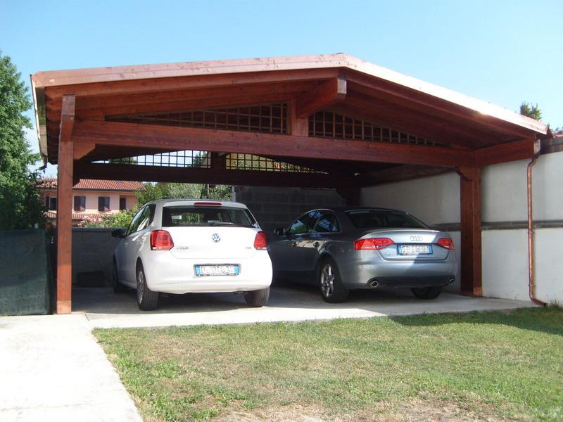 Carport e garage su misura e senza opere murarie for Quali sono le dimensioni di un garage per auto