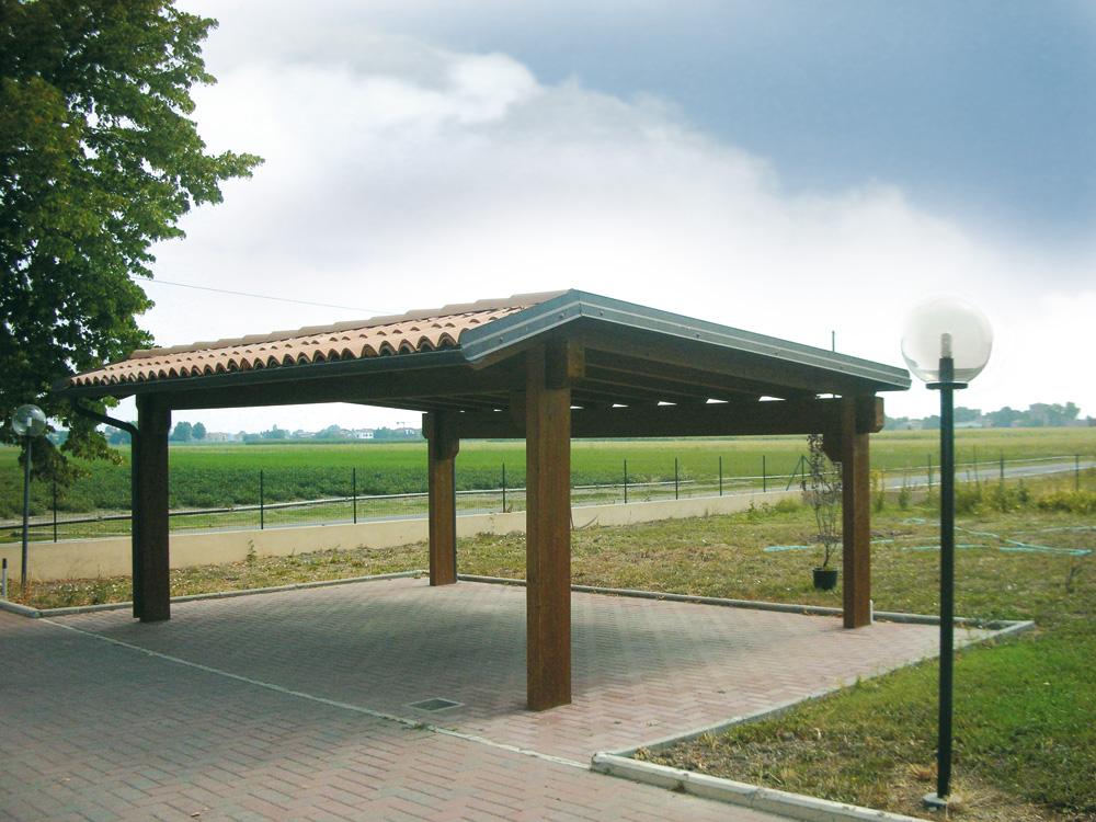 Carport e garage su misura e senza opere murarie for Carport box auto legno lamellare prezzi