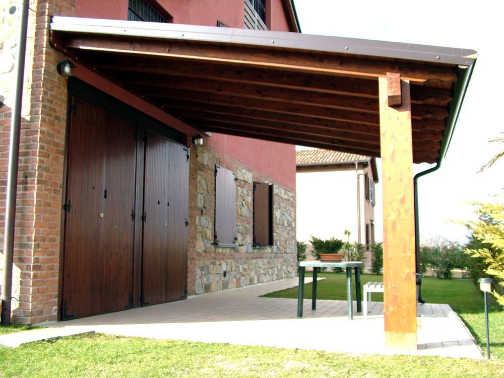 porticato in legno porticati con colonne su misura e