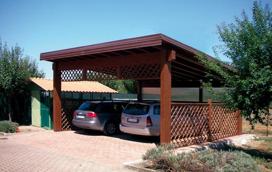 Carport e garage su misura e senza opere murarie for Garage per auto modulari 3