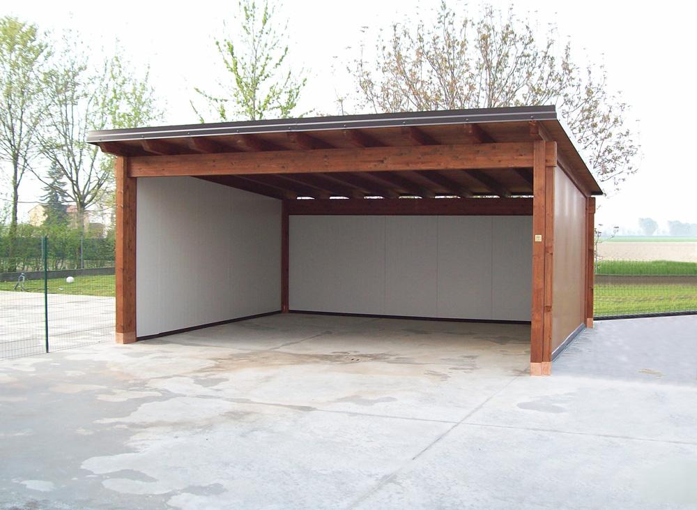 Copertura In Legno Per Auto : Carport e garage su misura e senza opere murarie