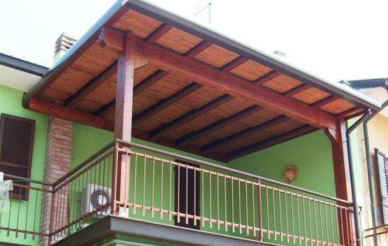 Stunning Copertura Terrazza In Legno Images - Modern Home Design ...