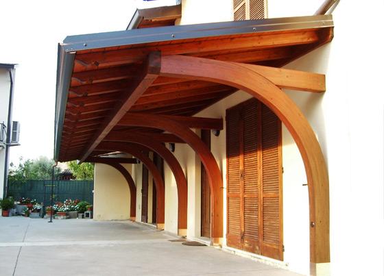 Il bers pergolati e porticati personalizzati realizzazione porticati in legno tettoie - Fare il cappotto interno alla casa ...